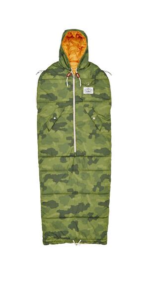 POLER The Napsack Sovsäck XL grön
